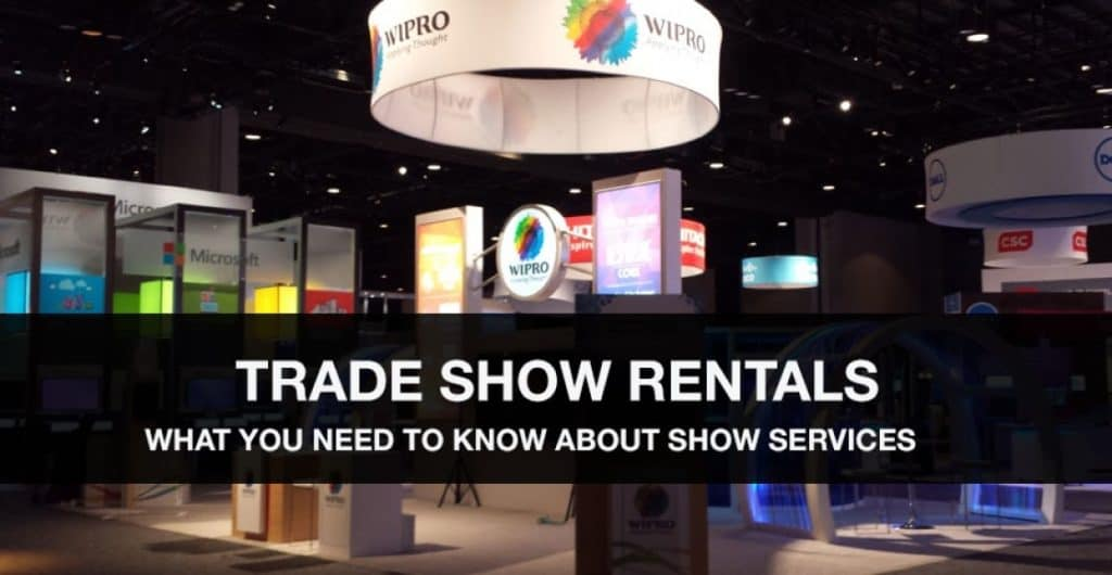 Your Rental Trade Show Booth and Show Services
