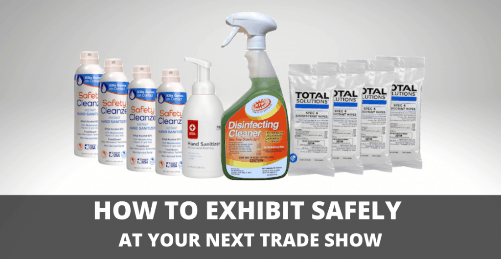 How to Exhibit Safely at Your Next Trade Show