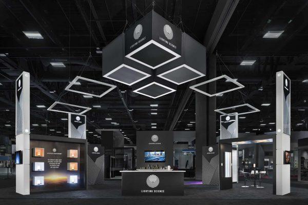 Lighting Science Exhibit Lightfair 2016, San Diego DesignShop Padgett and Company Job#4017