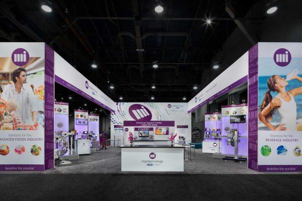 Markem Imaje Exhibit Pack Expo, Las Vegas DesignShop Padgett and Company Job#4160