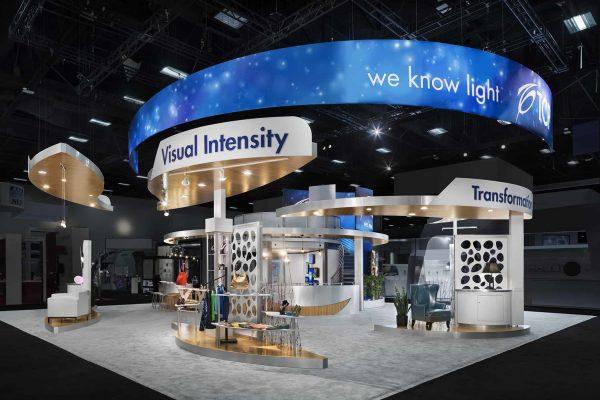 TCP Exhibit Lightfair 2016, San Diego DesignShop Padgett and Company Job#4017